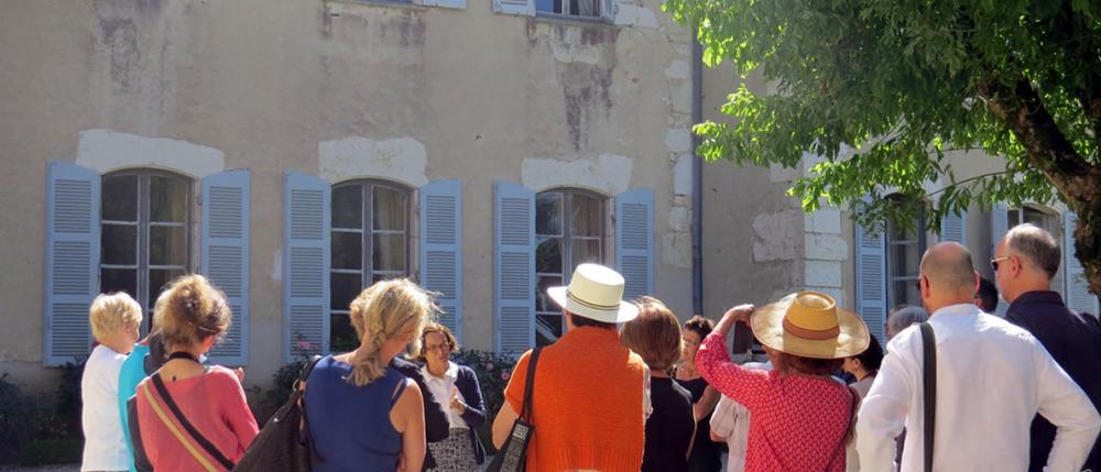 visite guidée du château de Brangues